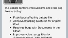 Elérhető az Apple iOS 5 első frissítése kép