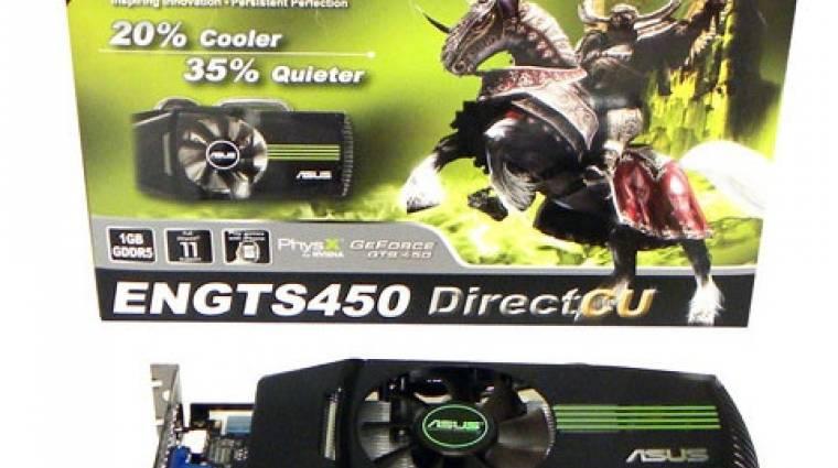 Lelepleződött az ASUS GeForce GTS 450 kép