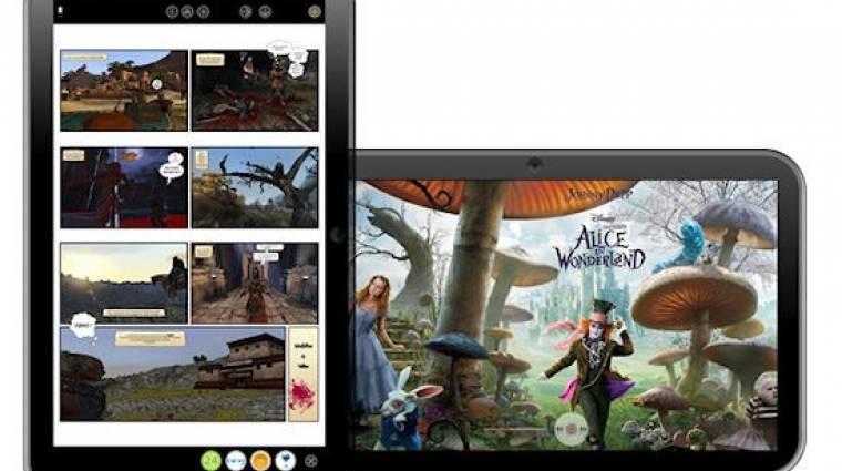 Windows 7-es tablet az ExoPC-től kép