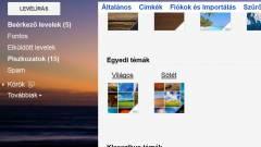 Egyedi témákkal újít a Gmail kép
