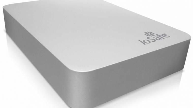ioSafe: ütésálló adattárolók alumínium és titán házban kép