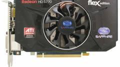 Sapphire HD 5770 Flex Edition: EyeFinity egyszerűen kép