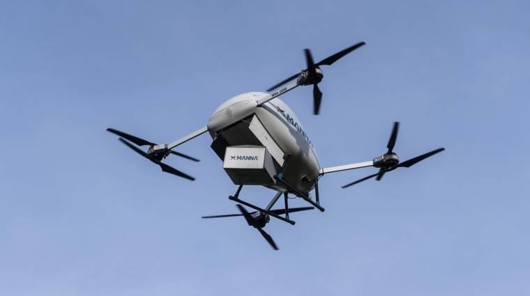 Drónokkal szállítja házhoz a megrendeléseket a Tesco kép