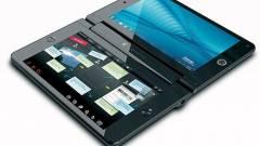 Két érintőképernyős laptop a Toshibától kép