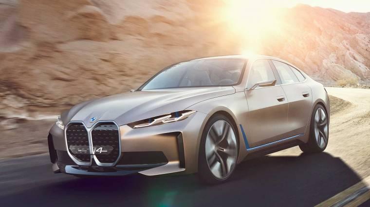 Az i4-re építi az első elektromos autóját a BMW M divíziója kép