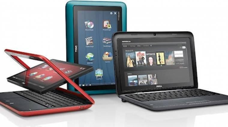 Szokatlan netbook-tablet hibrid a Delltől kép