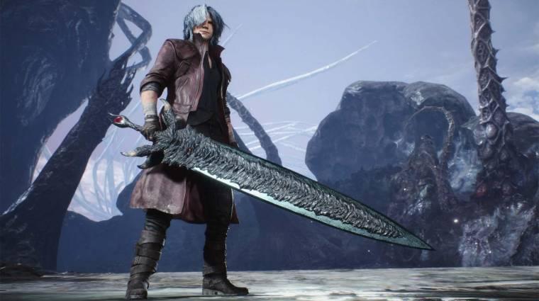 Devil May Cry 5 - Dante új kardja a valóságban is brutális bevezetőkép