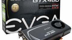 EVGA GeForce GTX 460 FTW duó kép