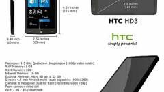 A világ legerősebb mobilja lehet a HTC HD3 kép