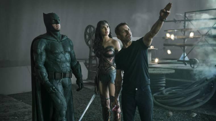 Zack Snyder mégis forgat új jeleneteket Az Igazság Ligája rendezői változatához kép