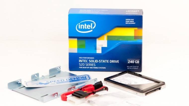 SandForce-alapú SSD-k az Inteltől kép