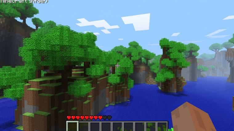Minecraft - Xbox 360 trailer bevezetőkép