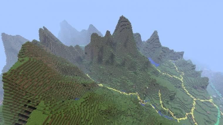 Minecraft - megépítették egész Dániát, te is bejárhatod bevezetőkép