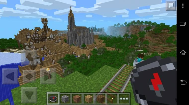 Minecraft: Pocket Edition - vigyázz, átvernek! bevezetőkép