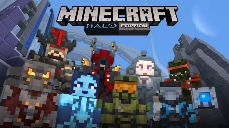 Minecraft - megjött a Halo csomag bevezetőkép