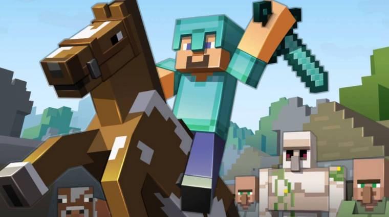Minecraft - csúszik a PlayStation 4-es verzió bevezetőkép