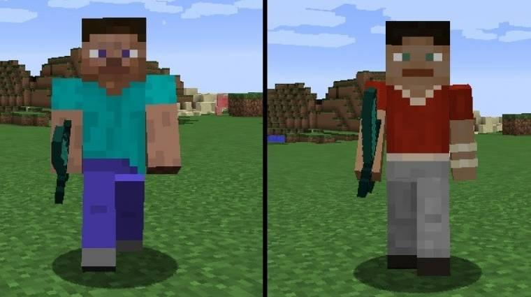 Minecraft  - apró finomítás a karaktermodellen bevezetőkép