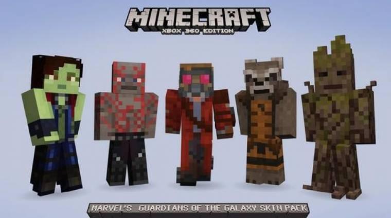 Minecraft - jönnek A galaxis őrzői skinek bevezetőkép