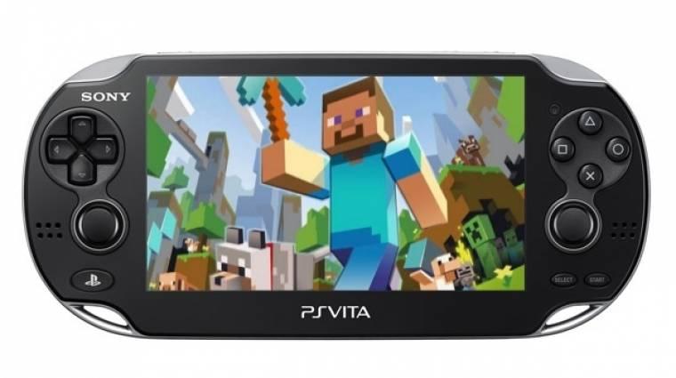 Gamescom 2014 - így néz ki a Minecraft PS Vita kiadása bevezetőkép