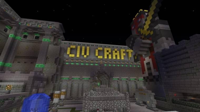 CivCraft - önálló játék készül a Minecraft modból bevezetőkép