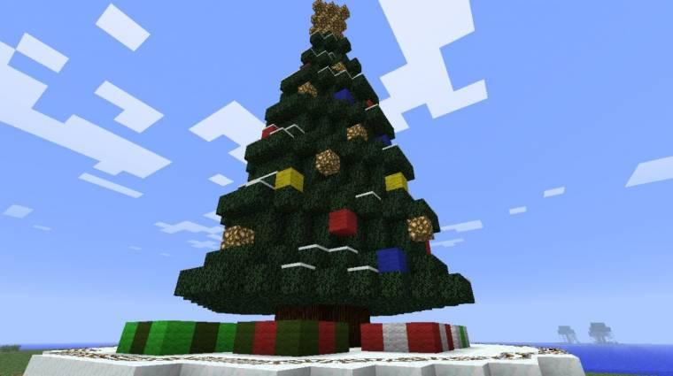 Kapcsolgasd valaki karácsonyfáját Minecraftból bevezetőkép