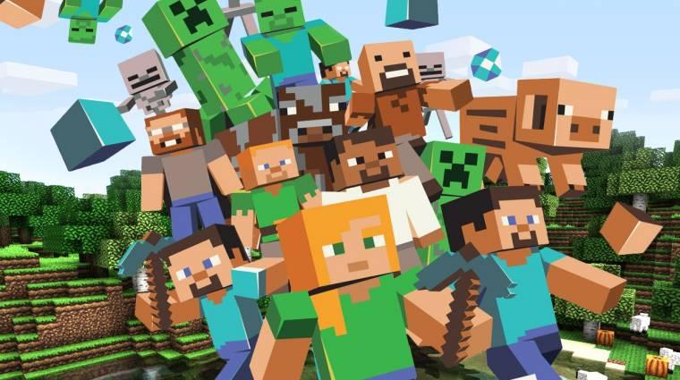 Minecraft - nagyot frissül a Windows 10 és mobil kiadás bevezetőkép