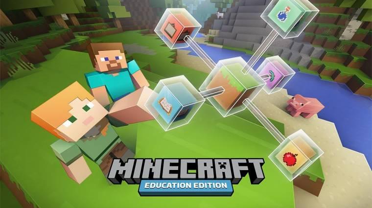 Minecraft Education Edition - jön a Mojang játékának hivatalos tanítóváltozata bevezetőkép