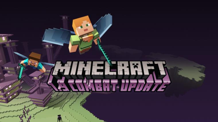 Minecraft - pajzsok, suhintás, és külön használható kezek az új frissítésben bevezetőkép