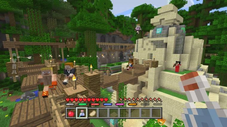 Minecraft - új játékmód jön, amiben a harc a lényeg bevezetőkép