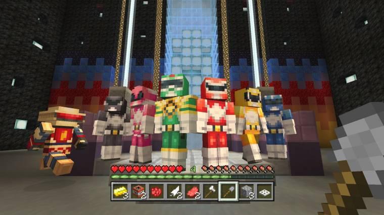 Minecraft - új minijáték és Power Rangerek érkeztek bevezetőkép