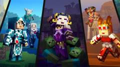 Minecraft - Magic: The Gathering skinek érkeznek, Switchen is meglesz a 60 fps kép
