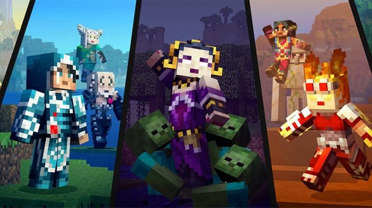 Minecraft - Magic: The Gathering skinek érkeznek, Switchen is meglesz a 60 fps bevezetőkép