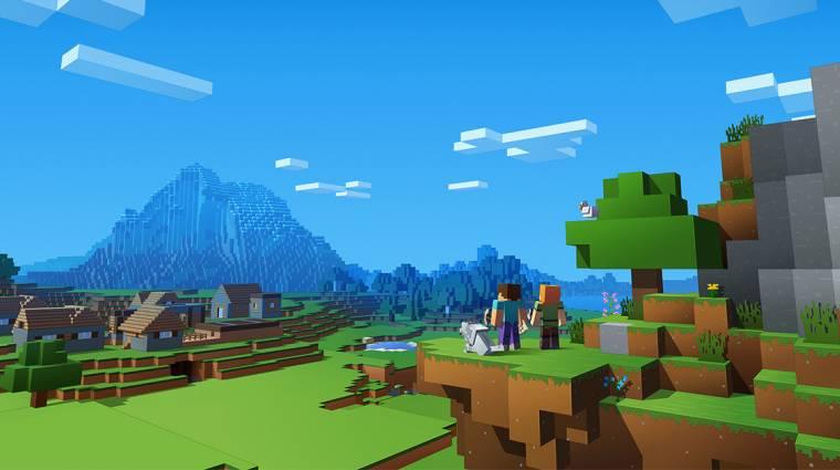 Minecraft - megint új csúcson a játékosszám bevezetőkép