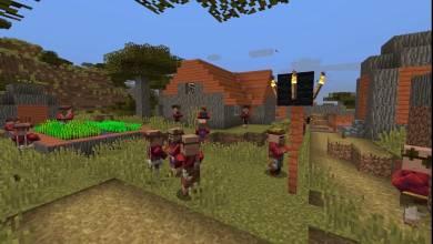 Minecraft - falusiakat és fosztogatókat hoz a következő frissítés