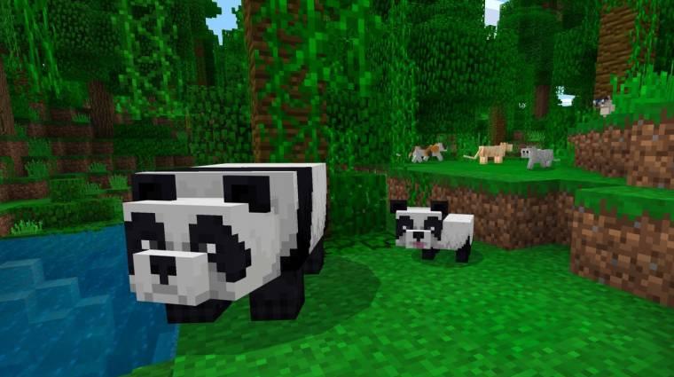 Minecraft - cukibb cicák és pandamacik az 1.8.0-s frissítésben bevezetőkép