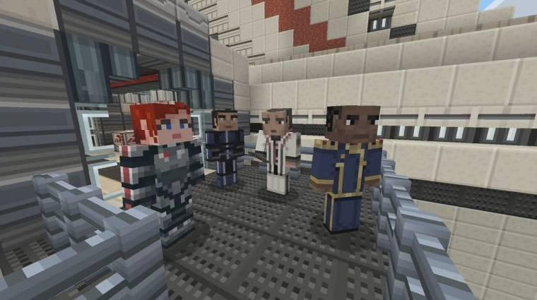Végre Nintendo Switchen a Mass Effect... Minecraft karakter csomag bevezetőkép