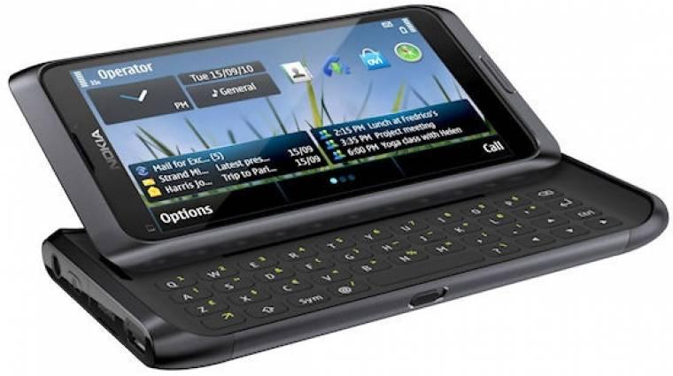 A finneknél már előrendelhető a Nokia E7 kép