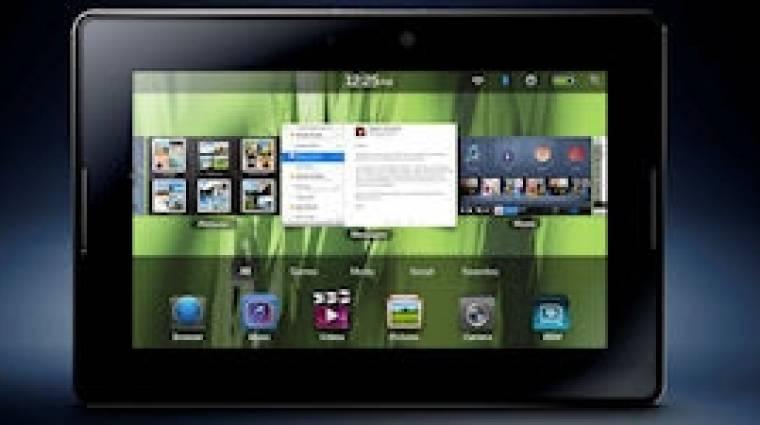 Csak jövőre érkezik a Blackberry Tablet OS 2.0 kép