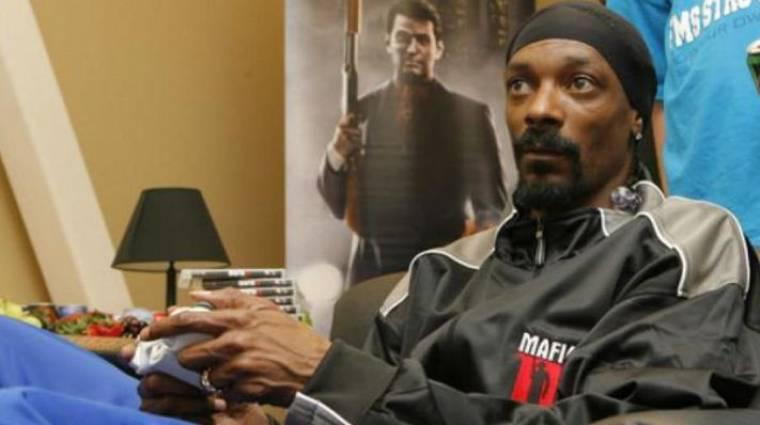 Hét és fél órán át streamelt Snoop Dogg, de ebből 15 percet töltött játékkal bevezetőkép