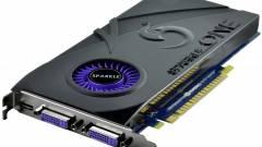 Egyslotos GeForce GTS 450 a Sparkle-től kép