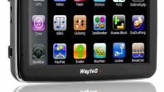 WayteQ X950 teszt: navigációban (is) erős kép