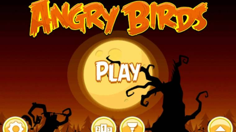 Angry Birds Halloween - a madarak Halloweenkor is dühösek bevezetőkép