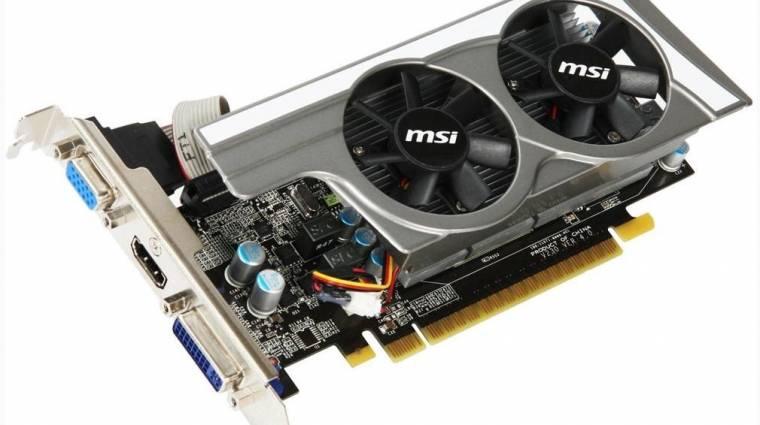 Érkezik az NVIDIA GeForce GT 430 kép