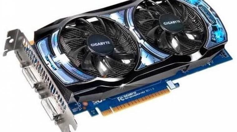GeForce GTS 450 OC-változatban a Gigabyte-tól kép