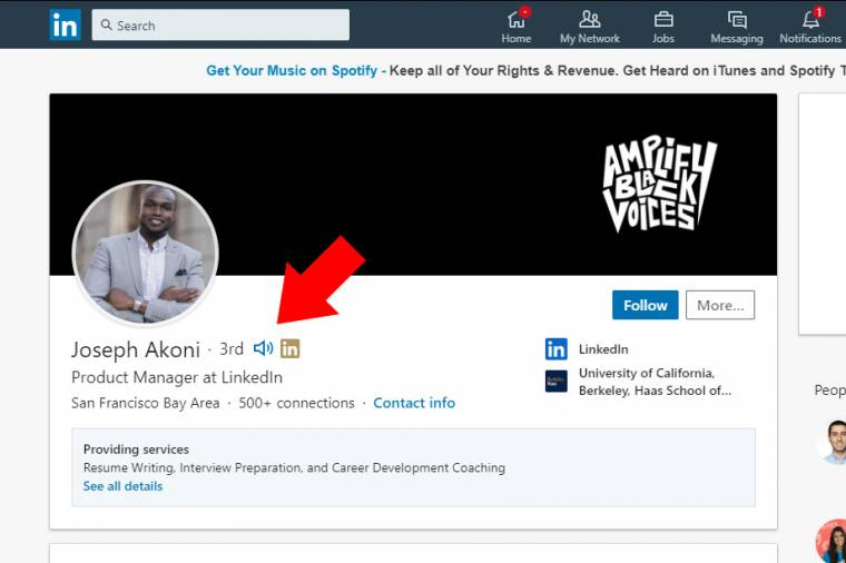 LinkedIn - News gets a simple but great innovation