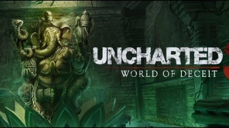 Uncharted 3: Drake's Deception - hivatalosan bejelentve bevezetőkép