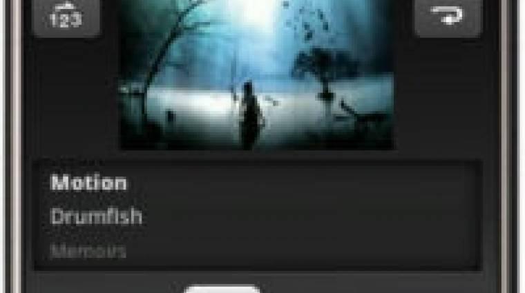 Androidon bétázik a Winamp kép