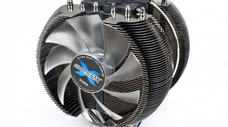 Óriási, felsőkategóriás CPU-hűtő a Zalmantól kép
