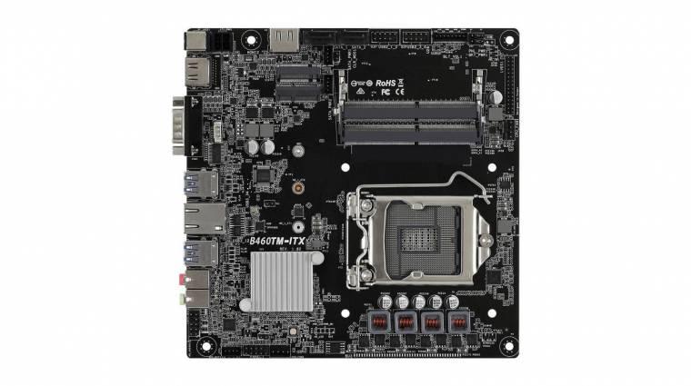Új ASRock mini-ITX alaplapok érkeznek Comet Lake-S processzorokhoz kép