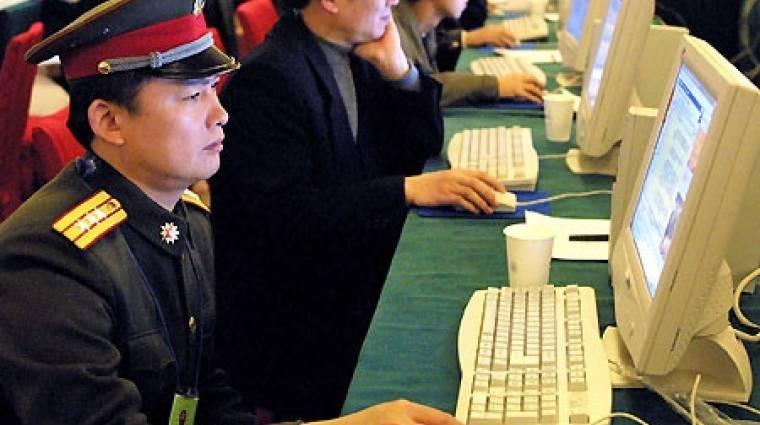 Kína eltérítette az internet adatforgalmát kép